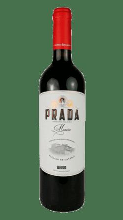 Botella del vino ecológico Palacio de Canedo Roble