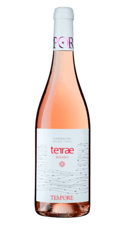 Vino ecológico Terrae Rosado 2019 de Bodegas Témpore
