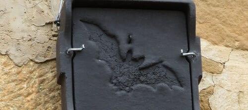 Caseta de murciélago para favorecer su presencia en el viñedo ecológico