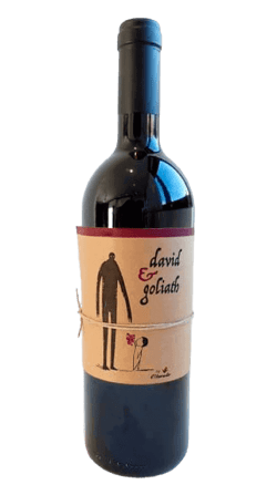 Vino ecológico de Bobal David & Goliath 2018