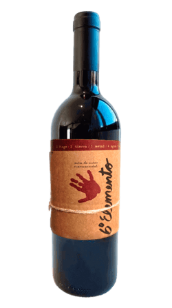 Vino natural sin sulfitos de bobal