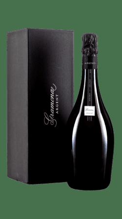 Estuche del vino espumoso argent blanc 2014