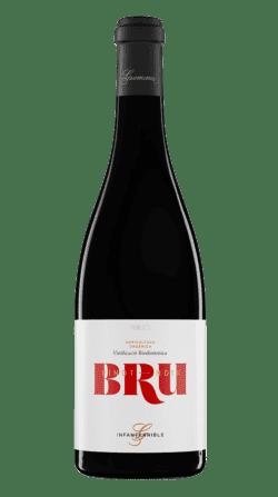 Botella del vino ecológico y biodinámico: Gramona Bru 2017