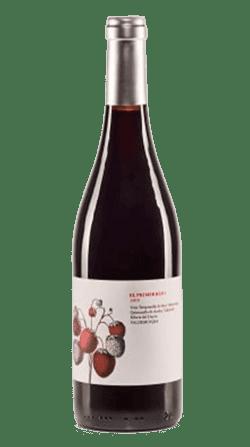 Botella del vino El Primer Beso, de Valdemonjas