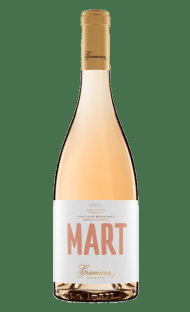 Botella del vino ecológico Gramona Mart 2020
