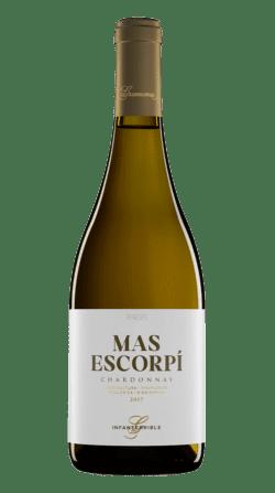 Botella de vino ecológico Gramona Mas Escorpí 2019