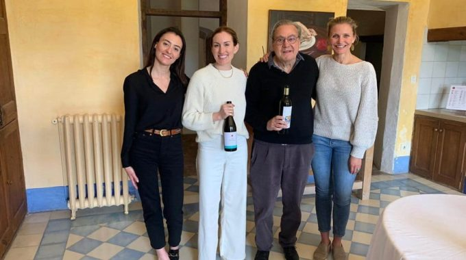 Cameron Diaz y Katherine Power durante su visita a España