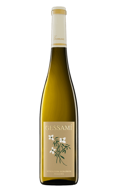 Botella del vino ecológico Gramona Gessami