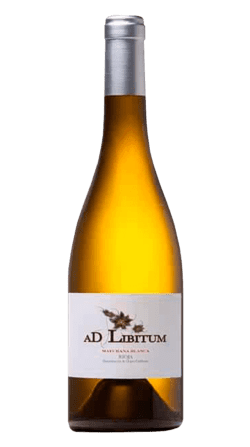 Vino ecológico AD LIBITUM Maturana Blanca 2019 de la Rioja