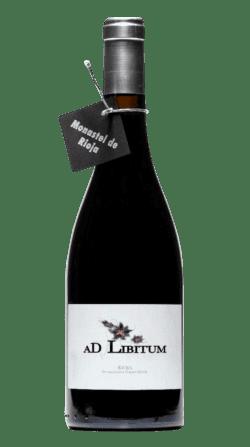 Vino ecológico AD LIBITUM Monastel de la Rioja 2018