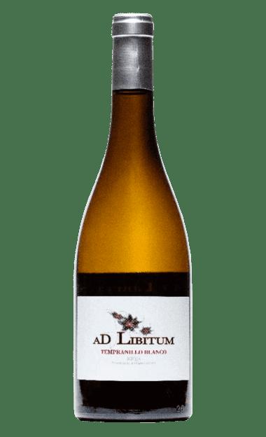 Vino ecológico AD LIBITUM Tempranillo Blanco 2019