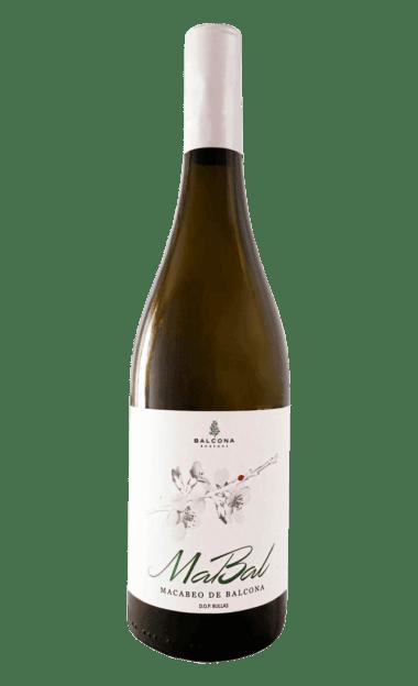 Vino ecológico Mabal Macabeo de Balcona 2018 de la bodega Balcona