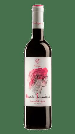 Vino ecológico María Sarmiento 2018