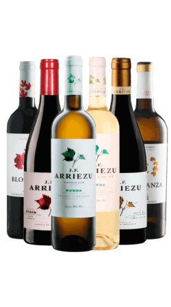 Pack degustación de la bodega Arriezu Vineyards