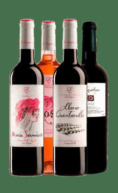 Pack degustación Evine de vinos ecológicos