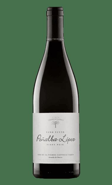 Vino Peñalba López Pinot Noir 2015 de la bodega Torremilanos