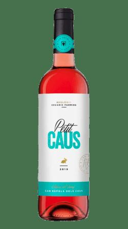 Vino ecológico Petit Caus Rosado 2019