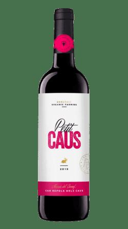 Vino ecológico Petit Caus Tinto 2019