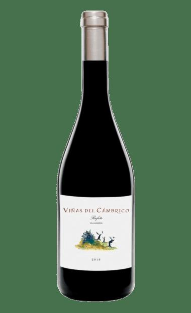 Vino ecológico Viñas del Cámbrico Villanueva 2016-2017