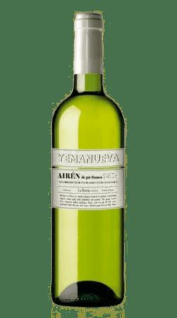 Vino ecológico Yemanueva Airén 2019