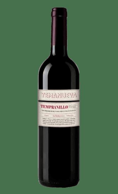 Vino ecológico Yemanueva Tempranillo 2018